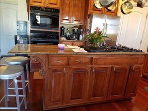 Before & After Cabinet Painting in Chesapeake, VA (1)
