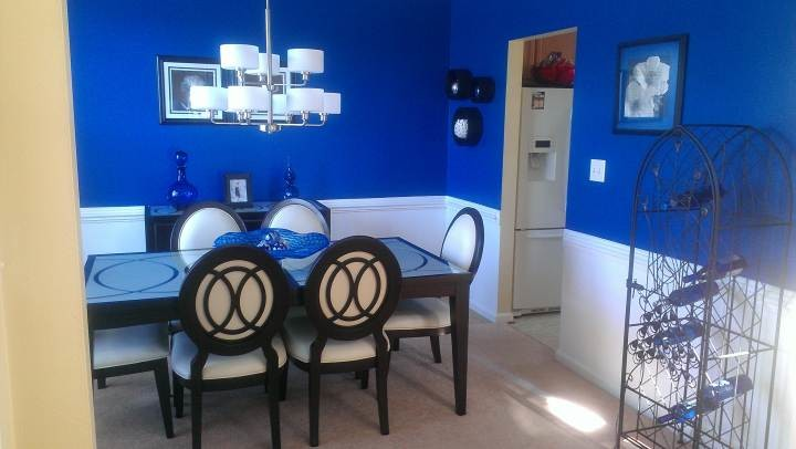 Beautifully Painted Dining Room by Complete Painting Services